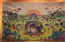 Marq Spusta The Beatles Fab 4 Pepperland Gold Variant Art Print Poster