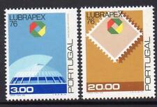 PORTUGAL MNH 1976 SG1622-23 Stamp Exhibition LUBRAPEX '76 - Porto, Portugal