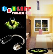 Bar/Shop/Home 3D Hulk Logo Projector Atmosphere LED Light E26 E27 Lamp Universal