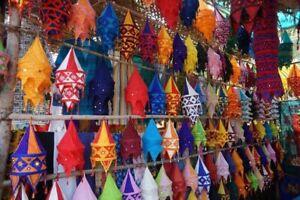 Handmade  Lantern Wholesale Lot of Decorative Cotton Lampshade Home Decor