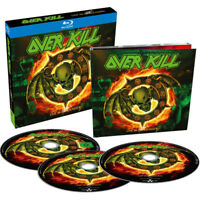 OVERKILL Live In Overhausen (2018) 2-CD + Blu-ray set NEW/SEALED
