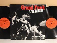 Grand Funk Railroad Live LP 1970 Capitol Records SWBB-633 1st Press (VG+ Vinyl)