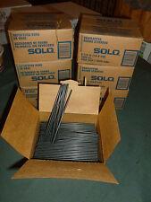 Swizzle Sticks Black Stirrers Disposable Plastic Drink 1000 per Box 5 Inch
