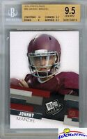 2014 Press Pass #30 Johnny Manziel First Ever ROOKIE BGS 9.5 GEM MINT Browns !