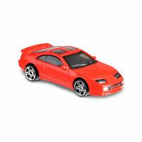 110 - 2019 Hot Wheels 1990 Nissan 300ZX Twin Turbo Die-Cast Car Bright Red FYF03