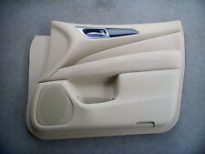 Nissan Pathfinder 809A0-3KA0B Right Front Interior Door Panel Beige
