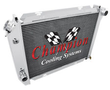 4 Row Racing Champion Radiator for 1968 Ford Galaxie