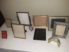 Vintage picture frame assortment Gold Filigree, Silver toned Swing tilt, Heart
