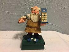 Collectible David Frykman Santa Crafted Figurine 1995 DF1212