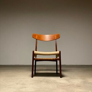 Hans Wegner CH23 Teak + Oak Side Chair