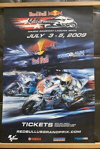 Moto GP Event Poster 2009 Laguna Seca
