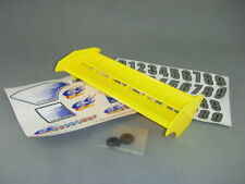 GS Racing The Eagle High Downforce Nylon Wing for 1/8 Buggy/Truggy, F-Yellow New