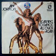 "LORRAINE JOHNSON learning to dance SPAIN INYL 7"" 45 ZAFIRO 79 (promo s/sided)"