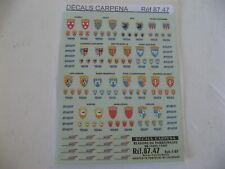 CARPENA LOCOS ELECTRIQUES BLASONS PARAINAGE 8747 8746 8751 POUR ROCO JOUEF TAB