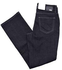 MAC MELANIE Jeans Black Denim straight fit schwarz Stretch Basic Gr.36 L30  NEU