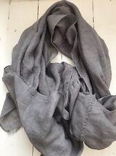 Silver / Grey Soft Pashmina Style Scarf