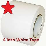 "4"" X 180' White Heat Shrink Wrap Tape 4 Inch RE36044WH by Pirates Plunder Marine"