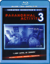 Paranormal Activity 3 (Unrated Director's Cut) New Blu