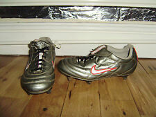 NIKE TIEMPO 750 1992 LEATHER FOOTBALL BOOTS BLADES SIZE 5 VERY GOOD CONDITION