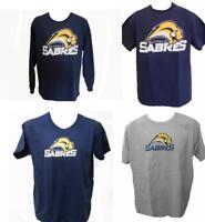 NEW Buffalo Sabres Adult Mens Long or Short Sleeve T-Shirt Sizes M-L-XL