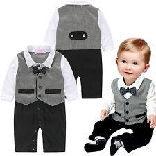 6-24 Monate Baby Boy Formal * Partei * Taufe * Hochzeit-Weste Fliege Anzug