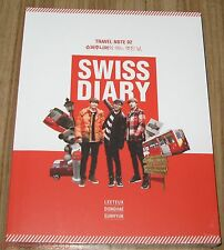 SUPER JUNIOR DONGHAE EUNHYUK LEETEUK SWISS DIARY K-POP PHOTO BOOK PHOTOBOOK NEW