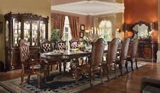 Acme   Vendome 62000 Luxury Brown Cherry Dining Room Set 9-Pcs