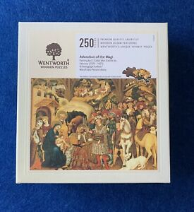 Brand New And Sealed! Adoration Of The Magi- 250 Piece Wentworth Jigsaw Puzzle