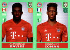 Panini Fifa 365 2020 Sticker 165 - Alphonso Davies - Kingsley Coman