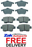 FOR VAUXHALL CORSA D 1.6 TURBO VXR (2006-2014) FRONT & REAR BRAKE PADS SET NEW