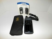 Garmin Handheld GPS West Marine 76cs Plus + Adapter Charger & Case