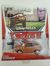 Disney Pixar Cars Cora Copper RSN Racing Sports Network Die-Cast Toy Car
