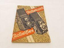 ROLLEIFLEX ROLLEICORD MANUAL