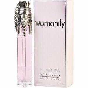 THIERRY MUGLER WOMANITY 80ML EAU DE PARFUM NEUF SOUS BLISTER