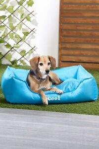 Pet Cooling Bed Dog Basket Washable