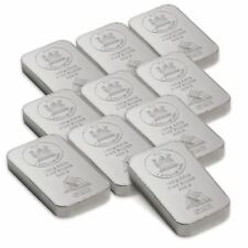 Münzen mit 100g Silbergehalt pro Einheit