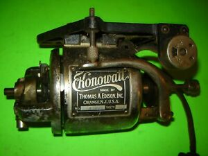 Antique Thomas A Edison Konowatt Motor 110V