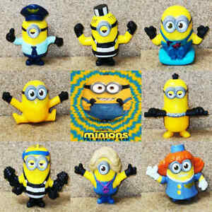 McDonalds Happy Meal Toy 2020 UK Minions Rise Of Gru Figures Toys - Various