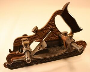 Stanley No. 42 Combination Plane, Fillester Bed, Two Fences, Eight Cutters