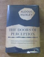 THE DOORS OF PERCEPTION - Aldous Huxley -1st/1st HCDJ -1954 -$1.50 - mescalin