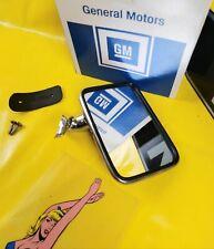 NEU + ORIGINAL Opel Kadett C Limousine Coupe City Aero Außenspiegel Chrom