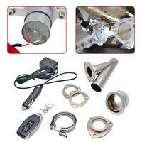 51mm Échappement électrique Downpipe Catback E-Cut Cutout Valve Contrôle Système