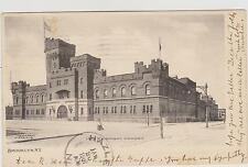 BROOKLYN 14TH REGIMENT MILITARY ARMORY, A&S SERIES 1907, NYC