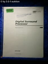 Sony Bedienungsanleitung SDP E300 Digital Surround Processor (#1233)