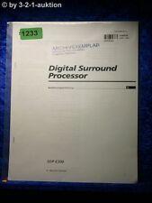 Sony Bedienungsanleitung SDP E300 Digital Surround Processor (#1233)