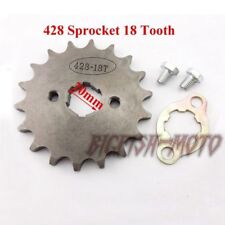 428 18 Tooth 20mm Front Engine Drive Sprocket Gear Lifan YX Loncin Pit Bike ATV