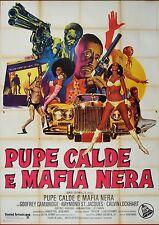 MANIFESTO, PUPE CALDE E MAFIA NERA Cotton Comes to Harlem BLAXPLOITATION POSTER