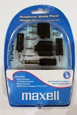 Maxell Headphone / Mobile Phone Travel Adapter Kit + 20FT Extension Cable