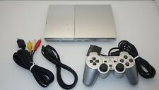 """SONY Playstation2 Slim Console SCPH-90000  """" Silver """" / TESTED 10588"""