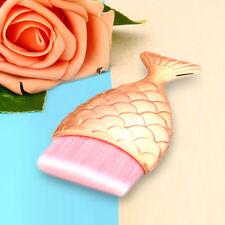 Lady Mermaid Fish Scale Makeup Fishtail Bottom Powder Blusher Cosmetic Brush Fit